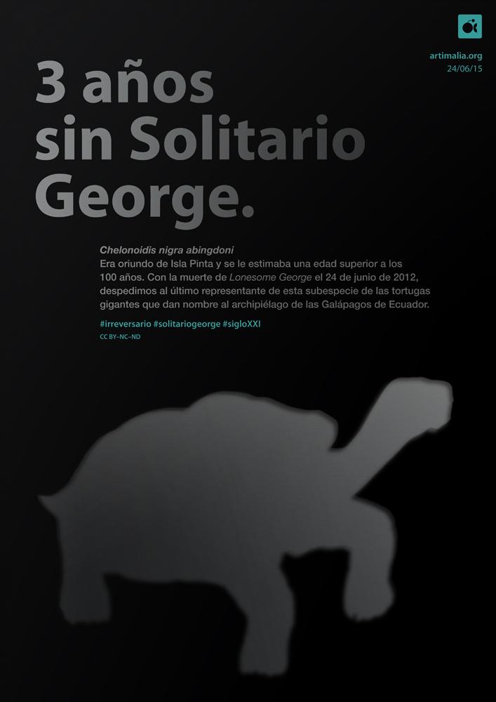 irreversario artimalia extinción solitario george