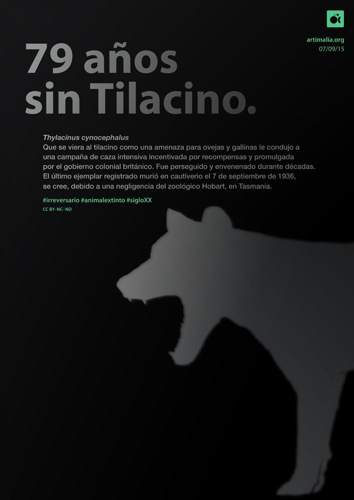 irreversario artimalia extinción tilacino