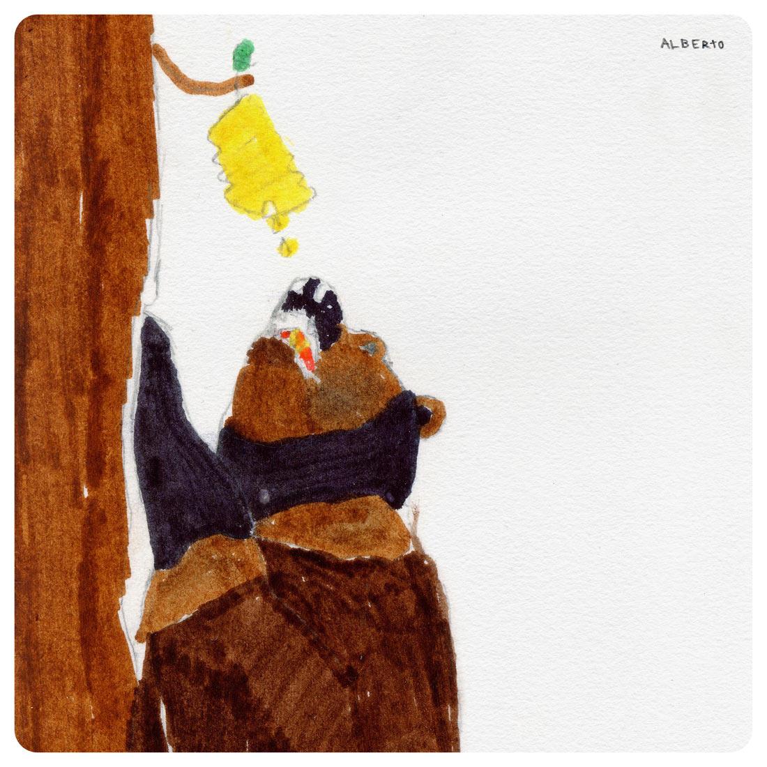 alberto lamuño oso mexicano detalle artimalia