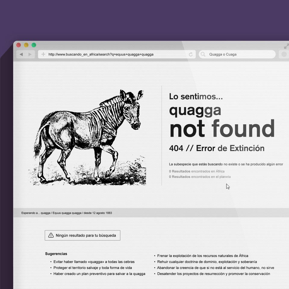 Blog Not Found: El Día De... La Quagga