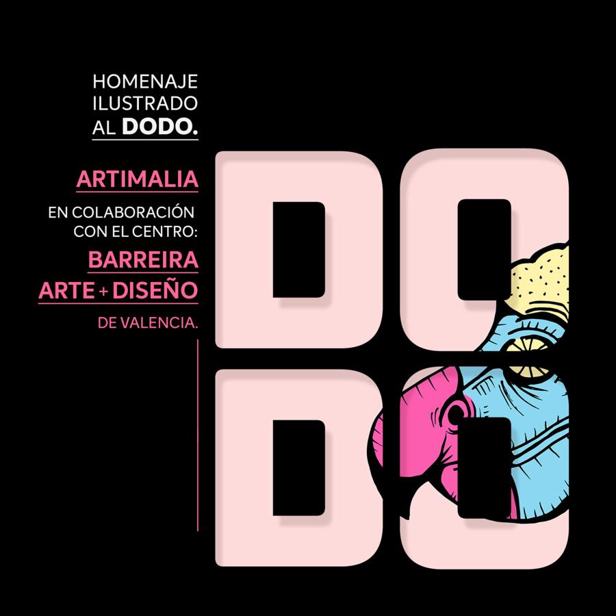 Homenaje especial al Dodo Colaboración con el Centro Barreira Arte + Diseño, de Valencia.