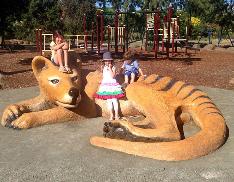 parque niños tilacino nueva zelanda artimalia